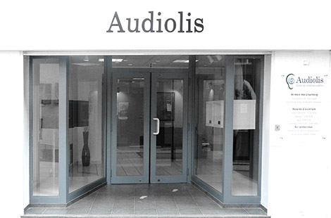 Devanture centre Audiolis